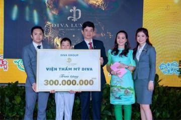Viện thẩm mỹ DIVA tài trợ 300 triệu cho làng SOS Đà Lạt