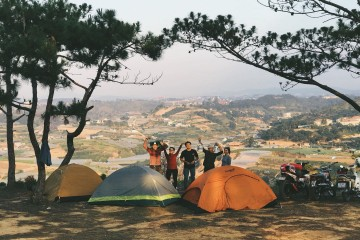Dịch vụ thuê lều trại ở Đà Lạt - Thỏa mãn đam mê khám phá