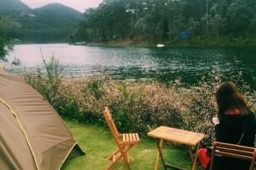 Tour cắm trại đêm Đà Lạt ở khu du lịch rừng lá phong