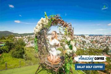 Dalat Golf Cafe – Quán cà phê view 360 độ xịn xò bậc nhất Đà Lạt!