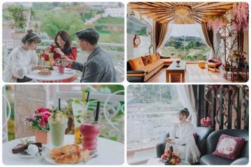 Dream Flower Coffee – Quán cà phê thơ mộng tựa trời Âu giữa lòng phố núi