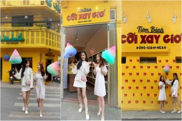 """Mua """" Vé về tuổi thơ"""" cùng kẹo bông xinh như cổ tích tại Tiệm bánh Cối Xay Gió"""