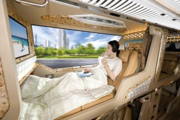 Limousine Amazing - Xe Limousine Sài Gòn - Đà Lạt 21 phòng nằm riêng biệt