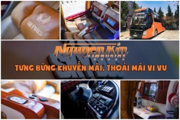Nguyễn Kim Limousine - Tưng bừng khuyến mãi, thoải mái vi vu
