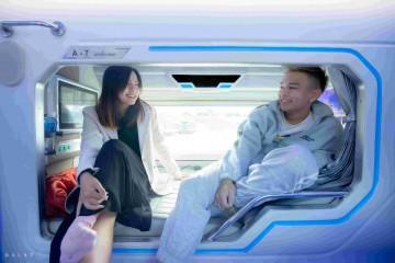 Xe Limousine giường đôi thu hút khách du lịch với những trải nghiệm tuyệt vời
